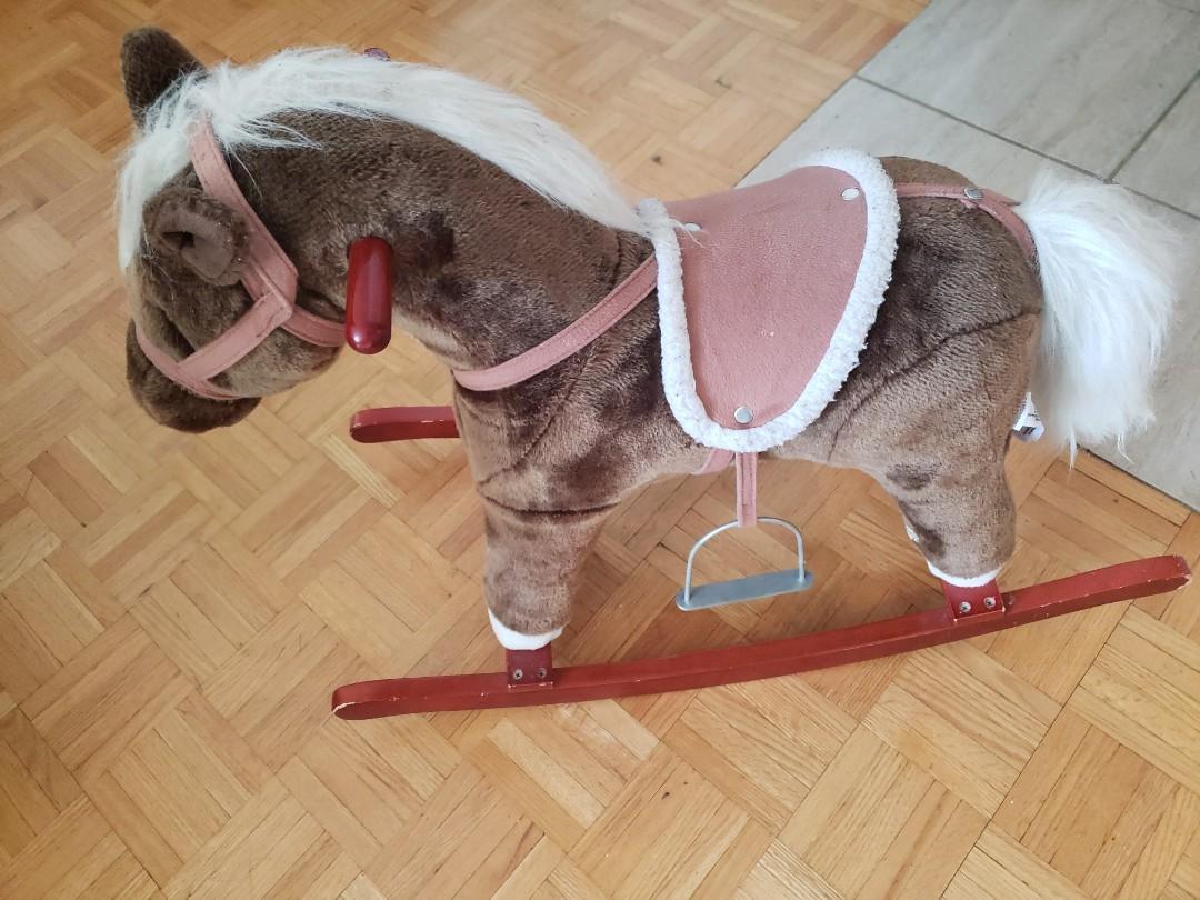 Slightly used rocking horse
