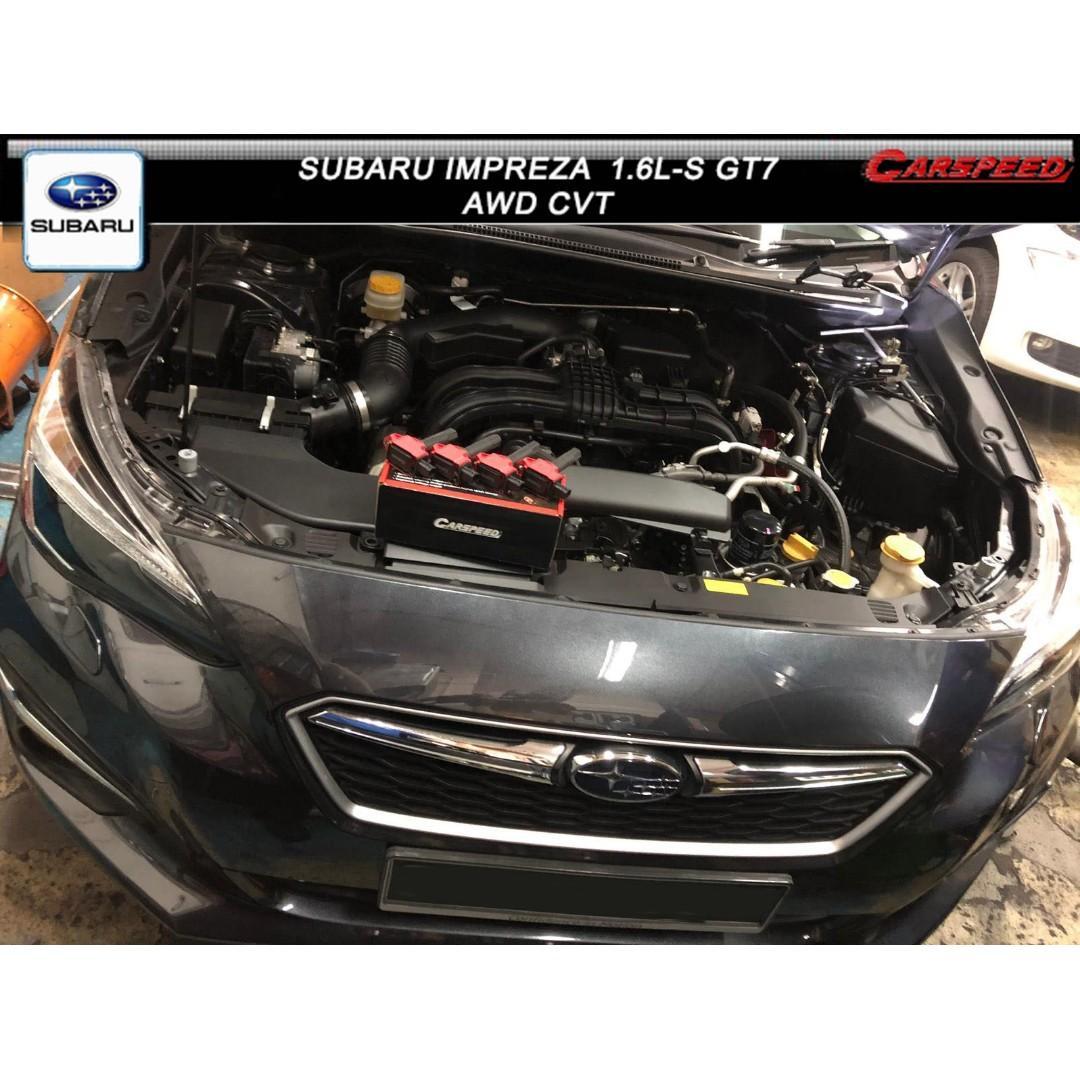 SUBARU IMPREZA  1.6L-S AWD CVT GT7 ( CARSPEED PRO POWER COIL )