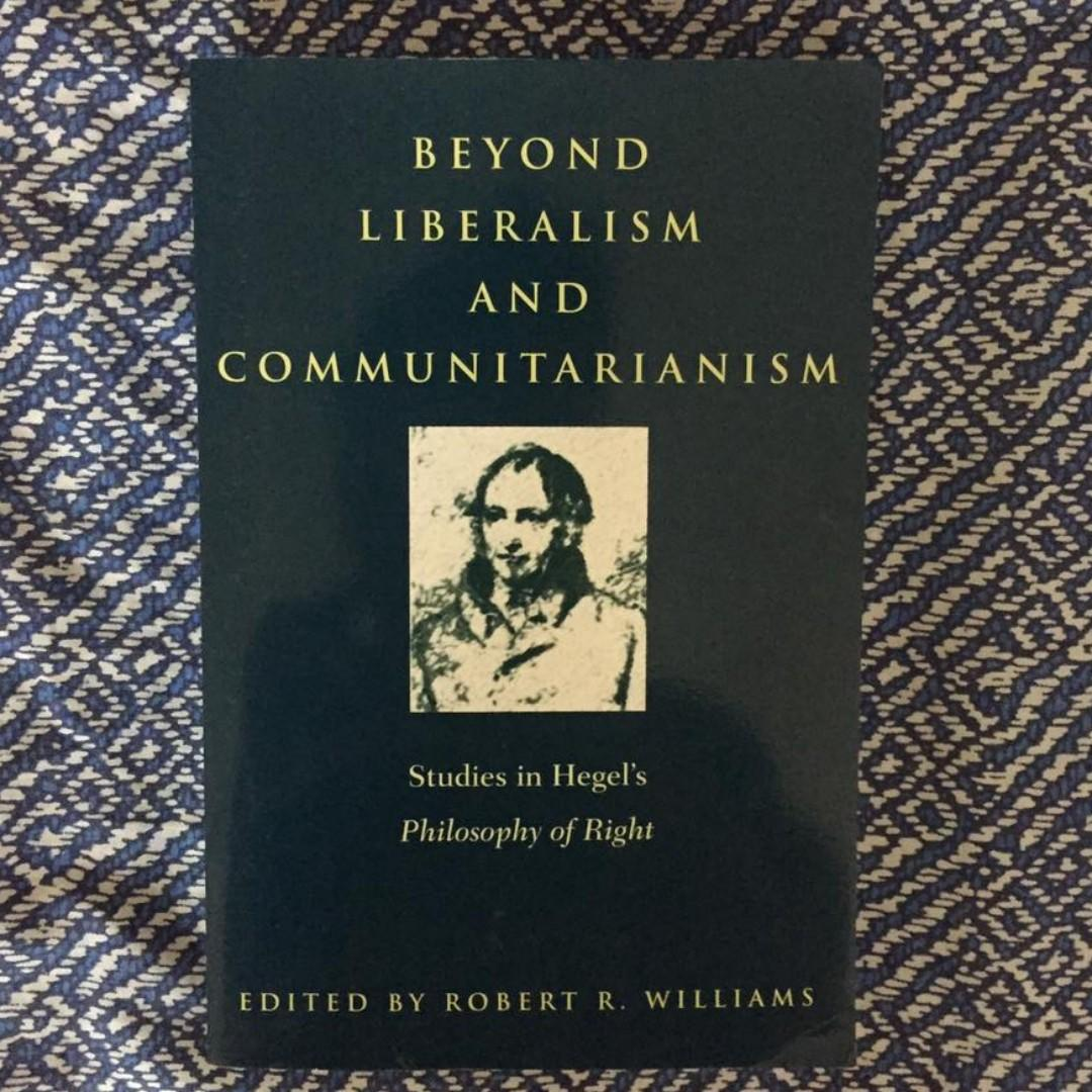 SUNY Philosophy | Beyond Liberalism and Communitarianism: Studies in Hegel's Philosophy of Right
