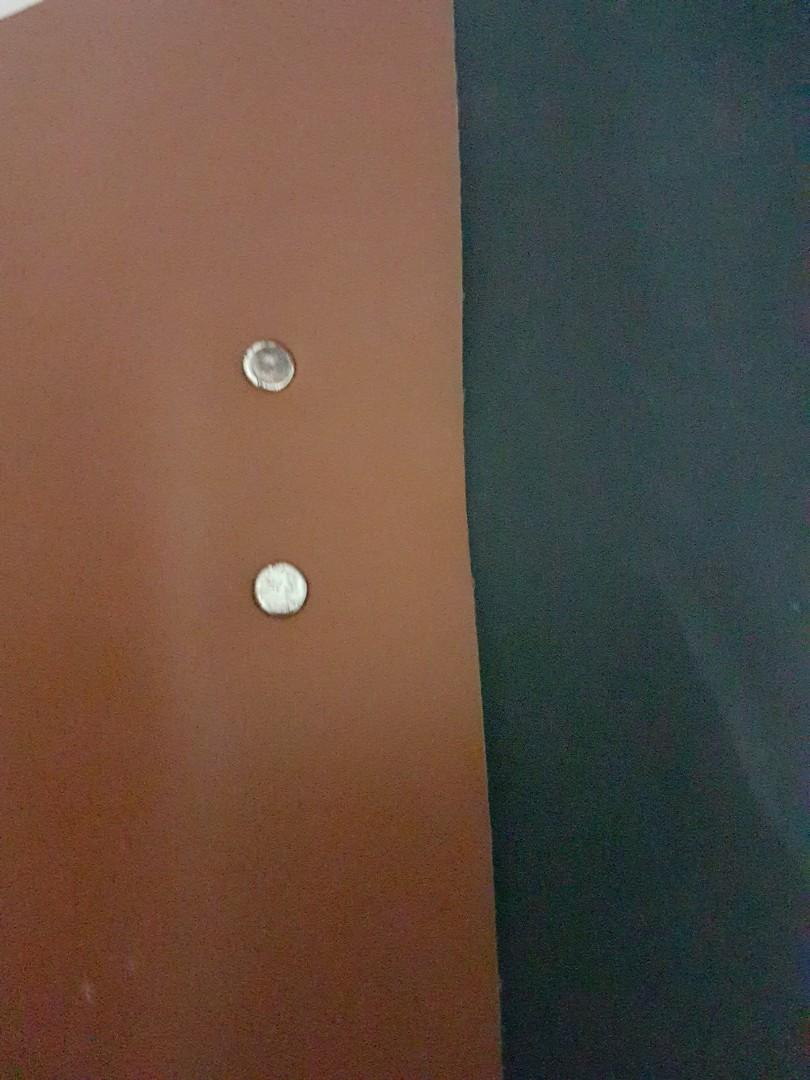 Tas Selempang / Sling Bag Kulit Kombinasi Kayu