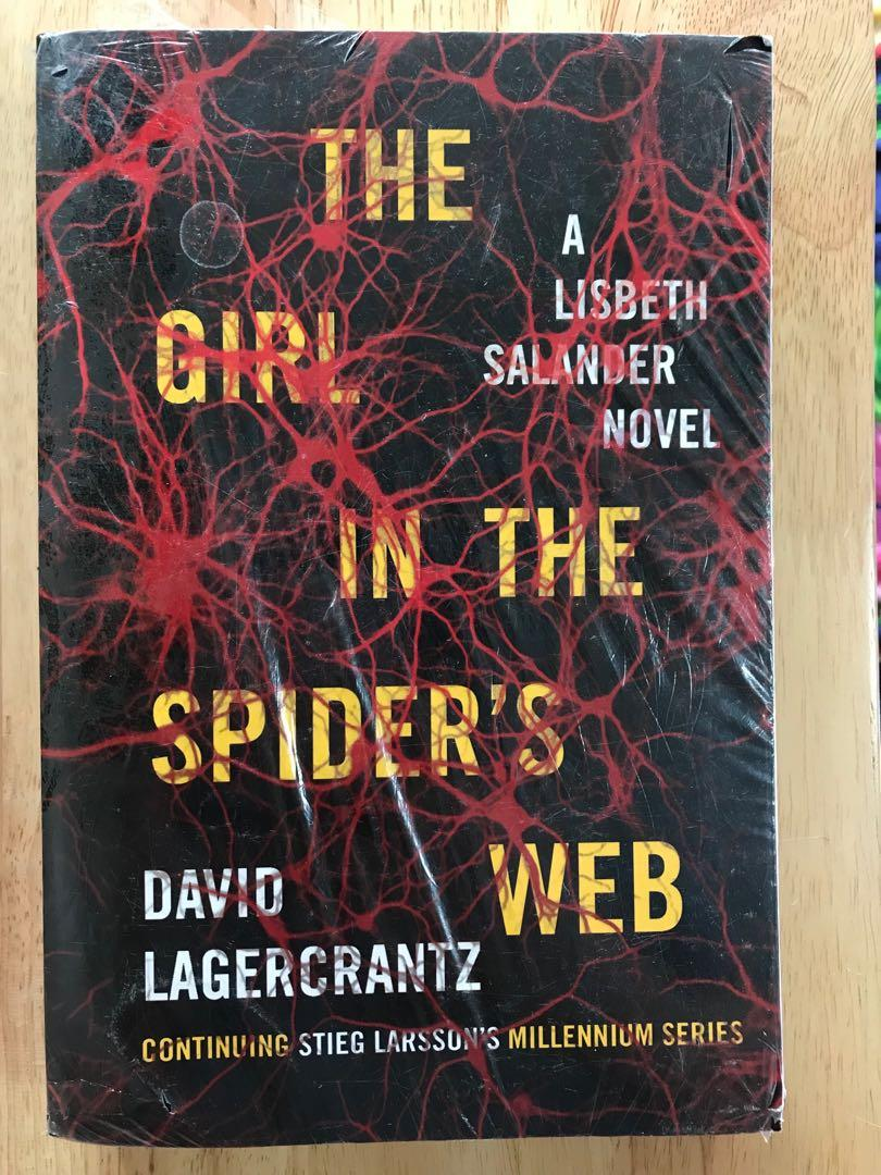 The Girl in the Spider's Web by David Lagercrantz / Stieg Larsson (Paperback)