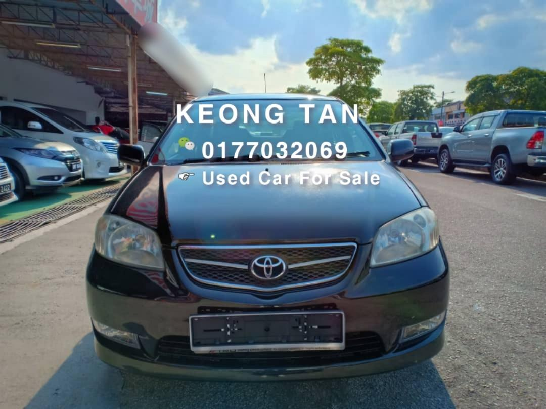 TOYOTA VIOS 1.5AT G SPEC 2005TH🎉JUAL CASH💰SHJ Rm18,800 Only!!🎉Cash OfferPrice‼Call📲Keong