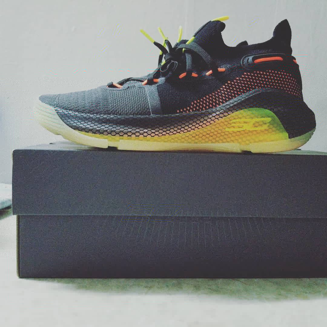 best website 24121 f0757 Under Armour Curry 6 fox theater US.9=42.5碼