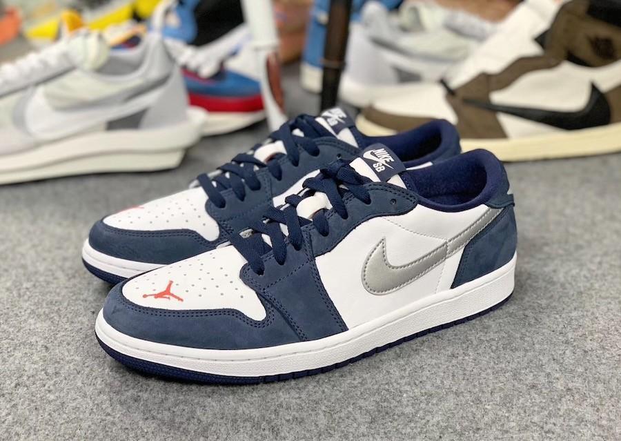 US 10.5 Nike SB air jordan 1 low eric