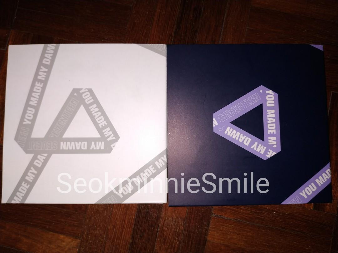 [WTS] SEVENTEEN YMMDAY ALBUMS