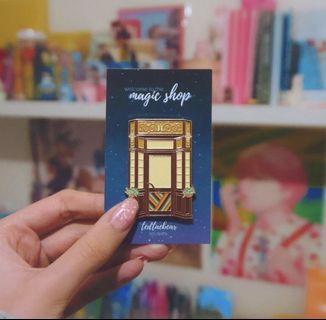 Glow in the Dark BTS Magic Shop Enamel Pin
