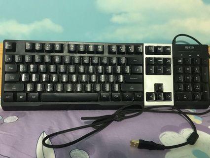 Aqax 發光鍵盤