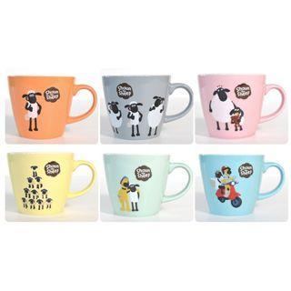 [訂購] Shaun the Sheep Mug 咖啡 杯 日本製造