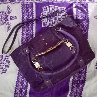 Tas ungu terong