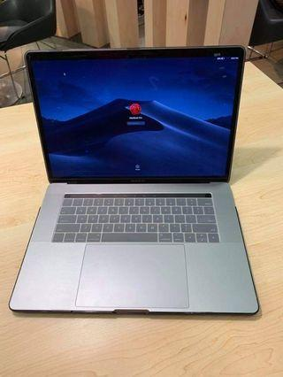 "Apple Macbook pro 15"" Touch bar 2017 Laptop"