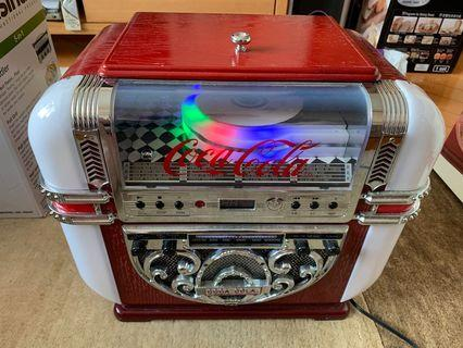 """""""日本版""""可口可樂CD機連收音機 - 值得收藏"""