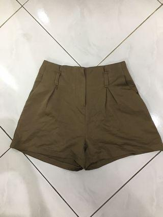 Lookboutiquestore Brownish Shorts