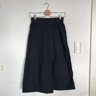 Uniqlo x Lemaire 深藍棉褲裙