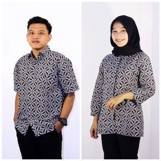 Couple Batik Monocrhome
