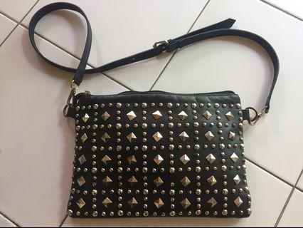 Sling bag or clutch woman