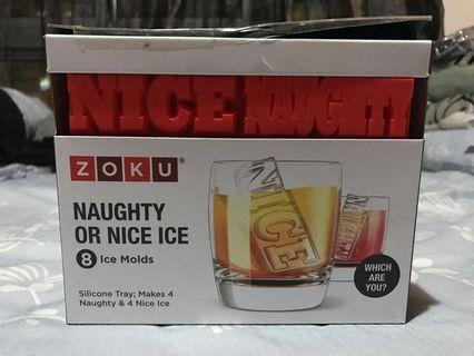 Naughty & Nice Ice Cube Mould