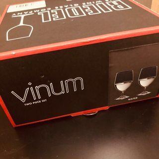 【Pair】Riedel Vinum Water