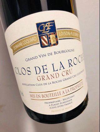 2013 Clos de la Roche Grand Cru Domaine Coquard Loison-Fleurot