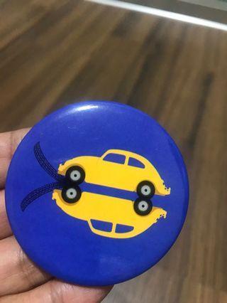 Volkswagen bettles tagpin