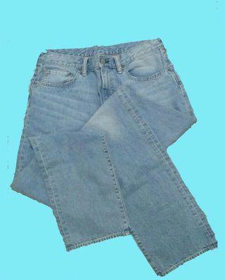 Celana jeans ori GU pria size 32