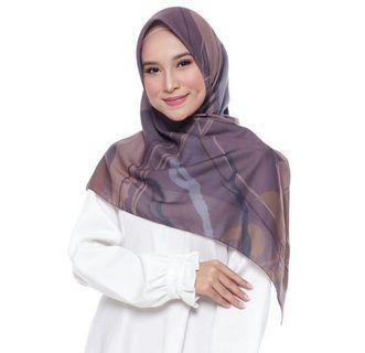 Hijab voal print