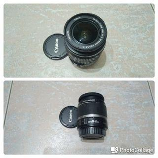 Canon ef-s 18-55 is