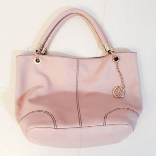 Lancel Pink Rose Leather Handbag #MRTPasirRis