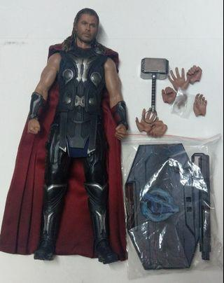 Hottoys Avengers Age of Ultron Thor 1/6 Figure 無盒