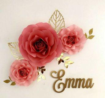 Paper Flower for decorations on any occassion