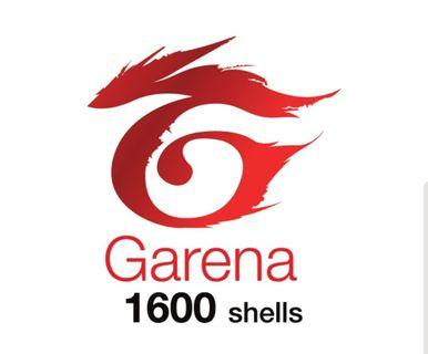 Garena Shells 1600