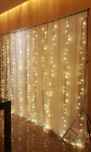 Fairylight Backdrop Rental for all Parties/Events