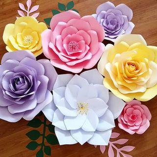 Giant Paper Flower Decoration