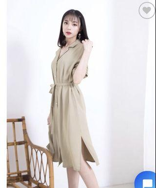 🚚 Korean Style Dress (Work/Casual)
