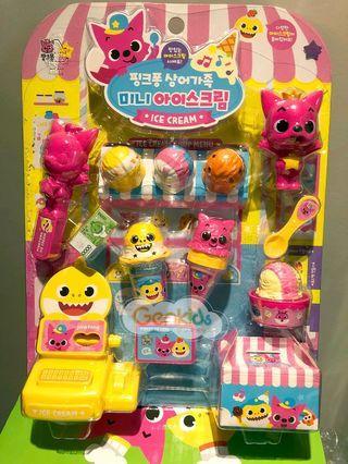 韓國Pink Fong Baby Shark 雪糕店玩具 現貨