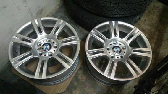 BMW e90/92 Msport 17 staggered perfect condition