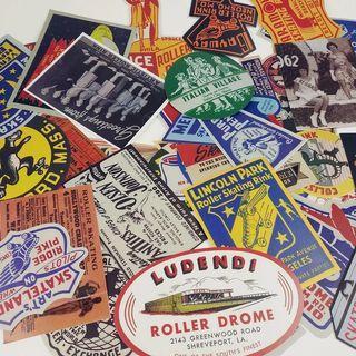 歐美復古行李箱貼紙 Luggage stickers suitcase stickers
