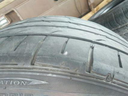 Tayar murah 245 40 18 Dunlop direzza JAPAN