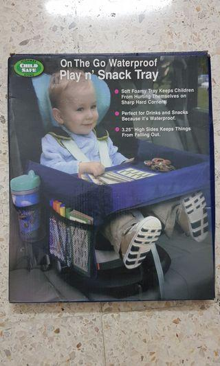 On the play waterproof Play and Snack tray