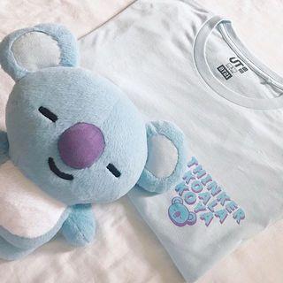 BT21 x Uniqlo Koya Thinker Koala Tee