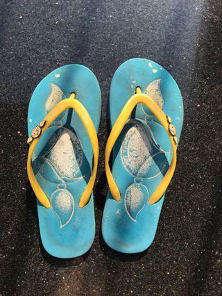 surfer girl slipper