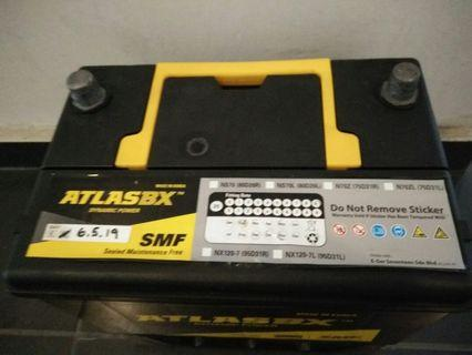 Battery MAINTENANCE FREE ns70 Perdana Camry accord