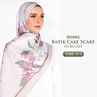 Batik Cake scarf by Cakenis