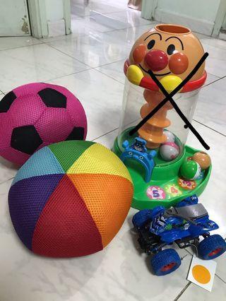 嬰幼兒玩具波波麵包超人車仔