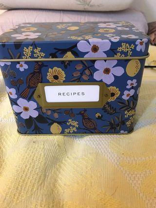 Paper&co recipe box