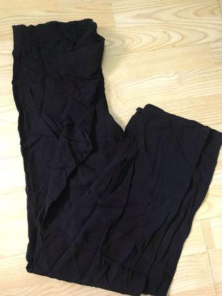 Preloved Vintage H&M Black Pants
