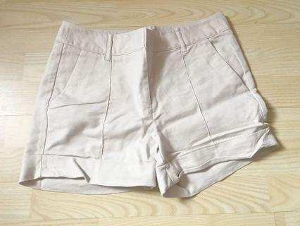 Preloved Zara Khaki Shorts