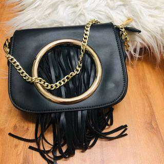 Mel and Molly tassle Sling Bag