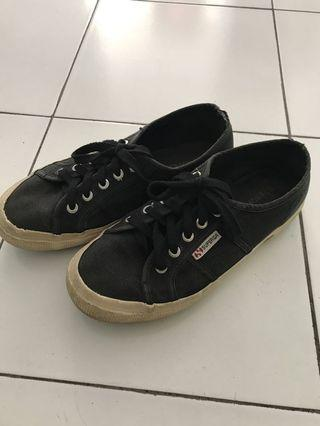 Superga Black Sneakers