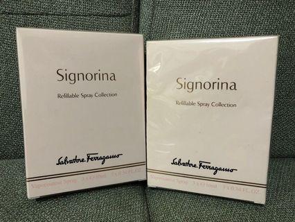 Salvatore Ferragamo Signorina Refillable Spray Collection (3x10ml@)