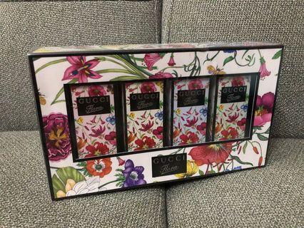 Gucci Flora Garden Miniature Perfume Gift Set for Women 4x5ml